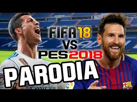 Canción FIFA 18 vs PES 2018 (Parodia Krippy Kush - Bad Bunny, Fran MG, Farruko, Rvssian)