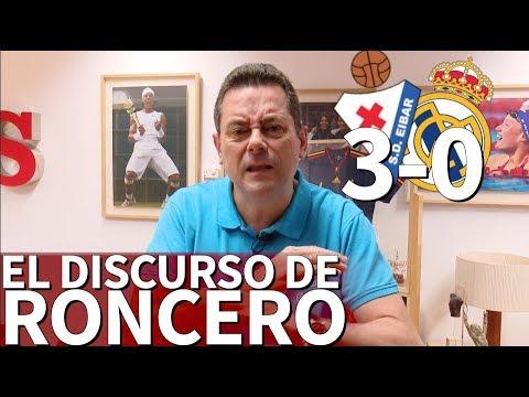 Eibar 3 - Real Madrid 0  El discurso de Roncero tras el derrumbe en Ipurua  Diario AS