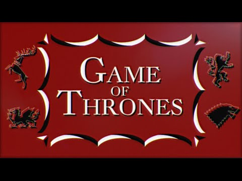 Game of Thrones 60 s Saul Bass style title