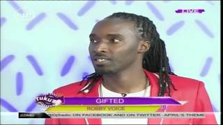 Tukuza Gifted: Robby Voice shows his drumming talent on Tukuza Show