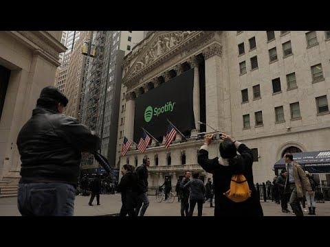 Ασυνήθιστη είσοδο κάνει η Spotify στη Wall Street