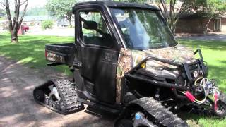 10. 2013 Polaris Ranger XP900 Camo with Camoplast Track Kit (C&C Sports)