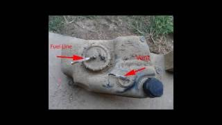 3. How to install fuel filter in Suzuki KingQuad (ProFill)