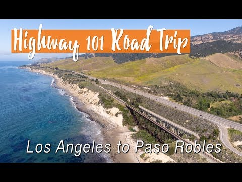 Highway 101 Road Trip from LA to J. Lohr Vineyards & Wines in Paso Robles