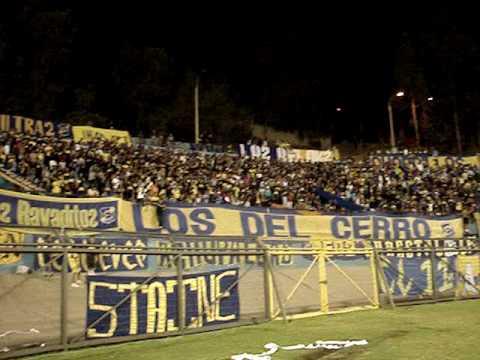 LOS DEL CERRO LA PREVIA DE LA NOCHE ORO Y CIELO 2010 - Los del Cerro - Everton de Viña del Mar