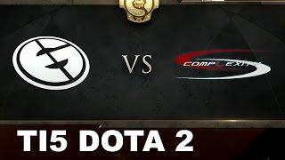 EG vs COL - 1 million $ Winners bracket TI5 Dota 2