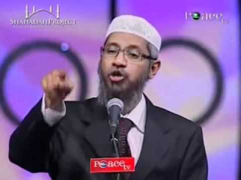 A STUPID GIRL ARGUES TO INTELLIGENT ZAKIR NAIK