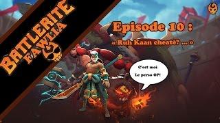 Aujourd'hui, 3v3 au plus haut niveau sur Battlerite (5000+ de côte en classée) avec en guest : Ruh Kaan, le nouveau perso!