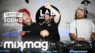 Jesse Rose b2b Harvard Bass b2b Brillstein - Live @ Mixmag Lab LA Play It Down Takeover 2017