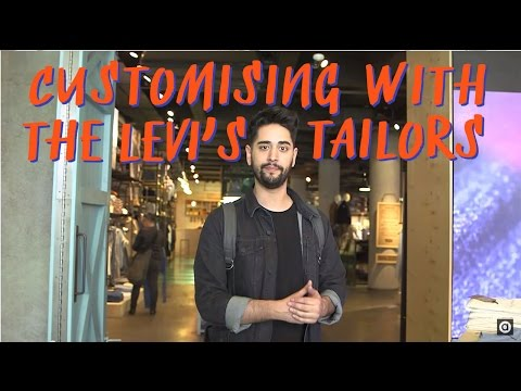 Customising Denim Jeans & Jacket With Levi's | James | ASOS Stylist