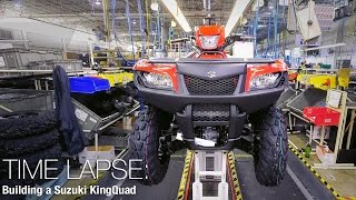 9. Building a Suzuki KingQuad - 4WheelDirt