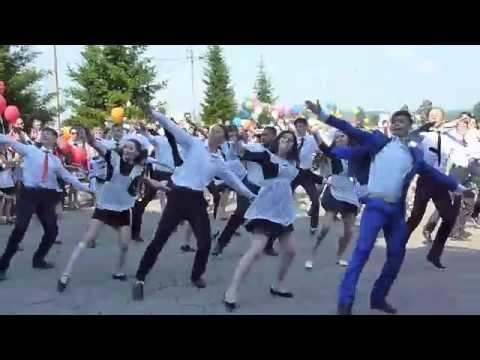 Городская линейка выпускников Лесосибирска 2016 года
