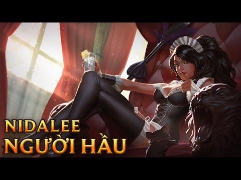 Nidalee Người Hầu - French Maid Nidalee