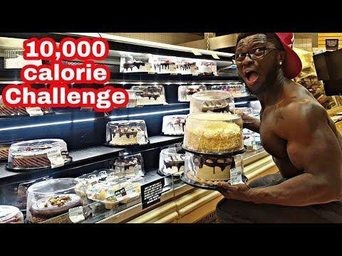 10,000 CALORIE CHALLENGE | EPIC CHEAT DAY | MAN VS FOOD