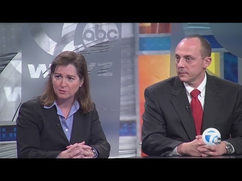 US attorneys Barbara McQuade, Robert Foley in studio