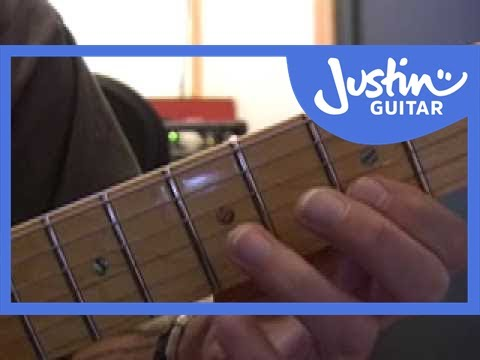 Blues Lead Guitar: Scales #2of20 (Guitar Lesson BL-012) How to play