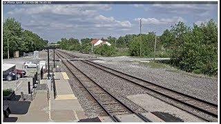 Download Video La Plata, Missouri USA - Virtual Railfan LIVE MP3 3GP MP4