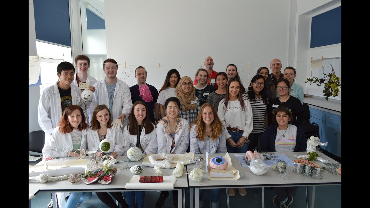 Video Thumbnail: Art and Medical Sciences Workshop