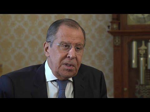 Ο Σεργκέι Λαβρόφ στο euronews για Σκριπάλ, ΕΕ και κυρώσεις