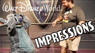 Video Stitch Couldn't Believe His Ears! - Disney World Impressions MP3, 3GP, MP4, WEBM, AVI, FLV September 2018