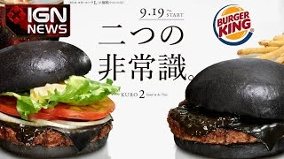 Black Burgers Back In Japan - IGN News