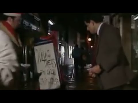 Mr Bean &#8211; Christmas Tree