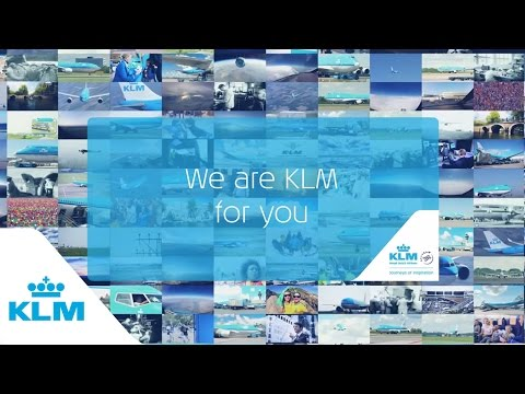 We Are KLM For You %E2%80%93 KLM 95 years