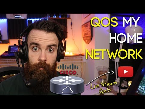 Let's QoS My Home Network - LIVE NUGGET (Quality Of Service) - CCNA - CCNP Collaboration