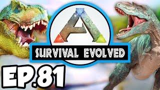 ARK: Survival Evolved Ep.81 - DINOSAURS GATEWAY & PENGUIN POND!!! (Modded Dinosaurs Gameplay)