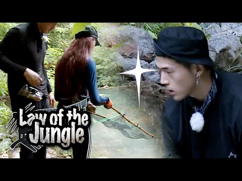 BM has a Great Physique! He's Full of Passion! BM Never Stops!!! [Law of the Jungle Ep 377]