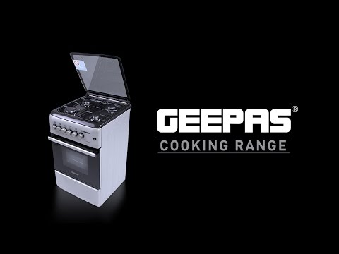 Geepas Cooking Range Product Demo in English