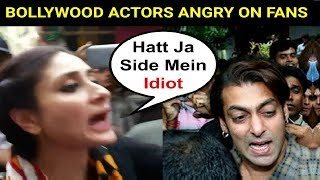 Video Bollywood Actors Angry On Fans - Video Compilation MP3, 3GP, MP4, WEBM, AVI, FLV Maret 2019