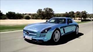 2014 Mercedes-Benz SLS Amg Electric Drive Automobile Car Review Video