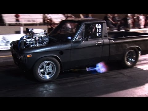 INSANE Blown Chevy LUV Goes KABOOM