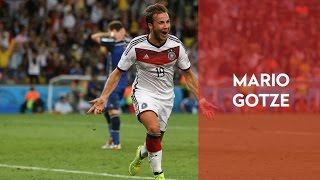 Mario Gotze Single Leg Squat Jump - Rehab Exercise