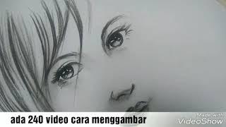 Download Video Gampang..Cara menggambar wajah gadis cantik dalam 8 menit | no timelaps MP3 3GP MP4