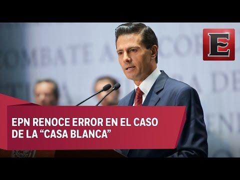 Peña Nieto promulga leyes del Sistema Nacional Anticorrupción