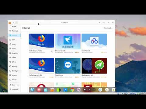 How to Install Firefox in Deepin 15.8 Using App Store