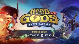 Hand of the Gods: SMITE Tactics выйдет на консолях