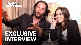 Video Keanu Reeves and Winona Ryder are Huge Fans of Each Other | 'Destination Wedding' Interview MP3, 3GP, MP4, WEBM, AVI, FLV Januari 2019