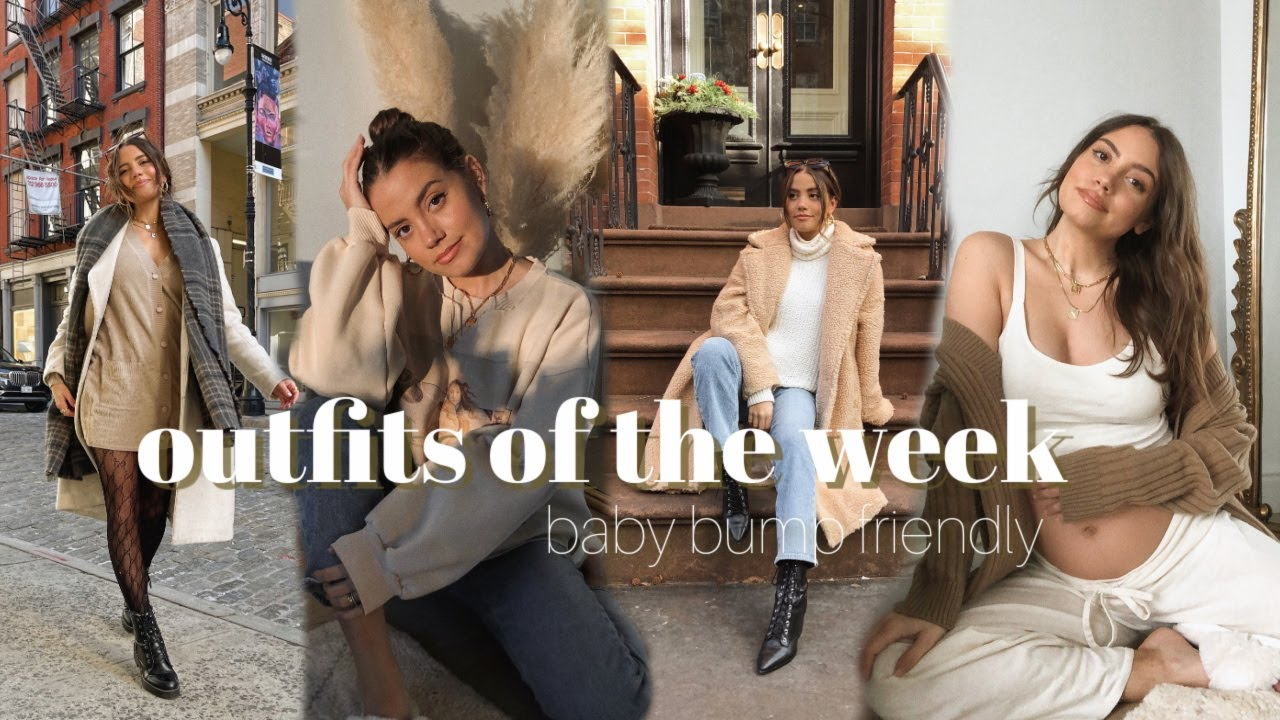 OOTW: Casual Everyday Outfits | baby bump friendly!