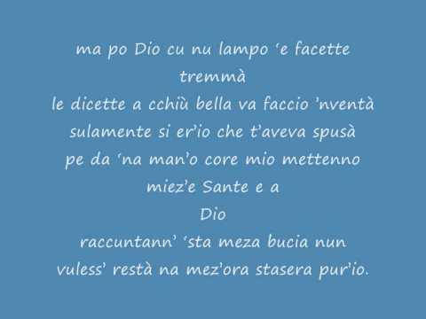 , title : 'mezza bugia gigi d'alessio'