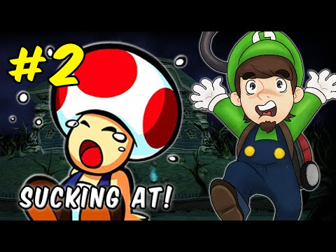 BABY - Subscribe to PBGGameplay! → http://tinyurl.com/mu2p9tv PeanutButterGamer sucks his way through Luigi's Mansion for the Nintendo GameCube - Part 2! Check out my review/top 10 gaming channel:.