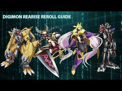 Digimon Rearise Reroll Guide Global