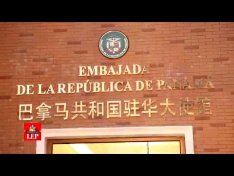 Varela inaugura primera embajada de Panamá en China