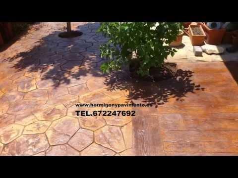 Hormigon Impreso Revilla Vallejera 672247692 Burgos