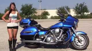 8. Used 2009 Kawasaki Vulcan Voyager Motorcycle for sale