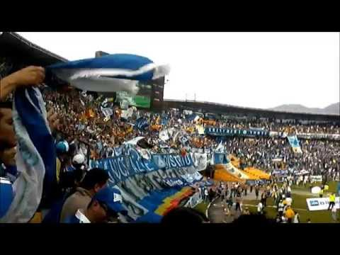 Millonarios vs Nacional 2015 - Blue Rain - Millonarios
