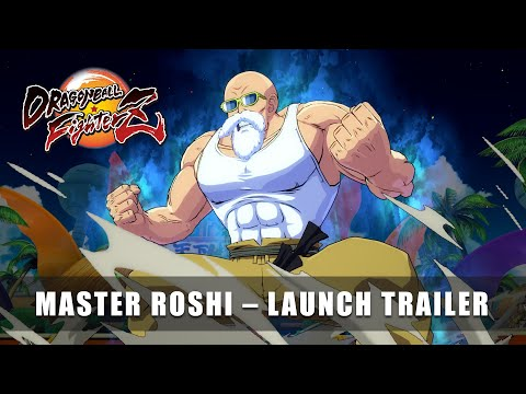 DRAGON BALL FighterZ – Master Roshi Launch Trailer