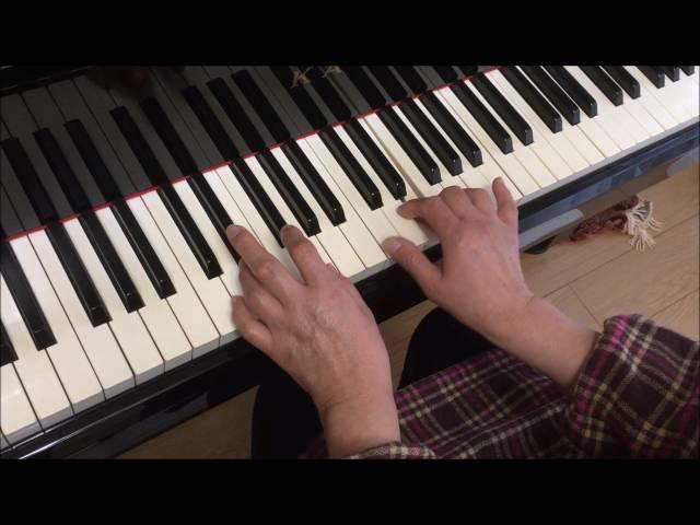 (ビフォー)大人初心者「歓びの歌」を弾いてみた。